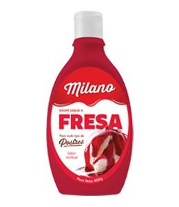 Sirope sabor a Fresa